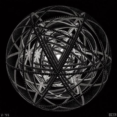 Concentric Rinds (Concentric Space Filling/ Regular Sphere Division)