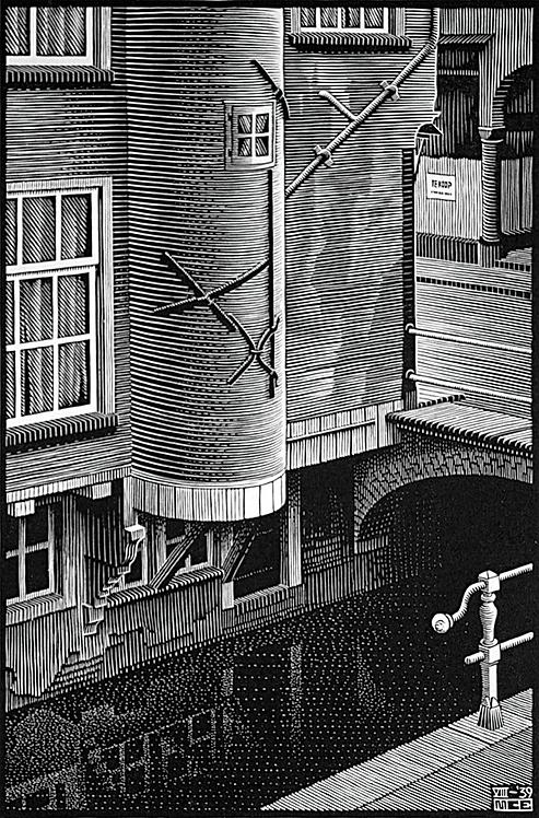 Delft: Voldersgracht (detail)