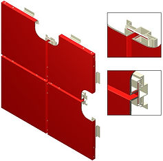 Americlad AC-1200 BV back ventilated system is a fully tested wall panel sytem with various color and material options.