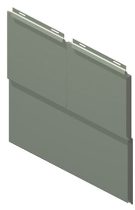 The Americlad AC-5500 Flat Lock panel system is a light gauge back ventilated wall panel system that elimnates the need for a traditional clip by utilizing an integral clip. This intergal clip will save you installation time in the field.