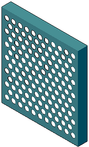 Americlad AC-715SW Perforated Screen Wall