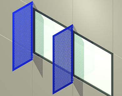 AC-200 Vertical Plate Sunshade System