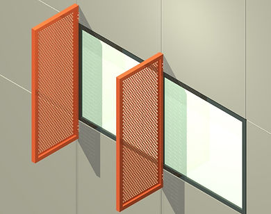 "AC-210 2 1/2"" Vertical Sunshade System"