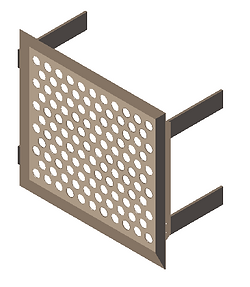 Americlad AC-710S Perforated Screen Wall