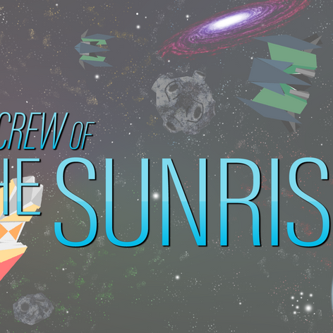Splash screen icon for crew of the sunrise
