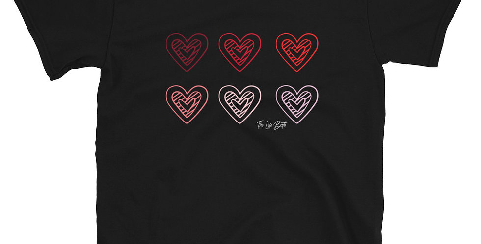 Short-Sleeve T-Shirt - Hearts