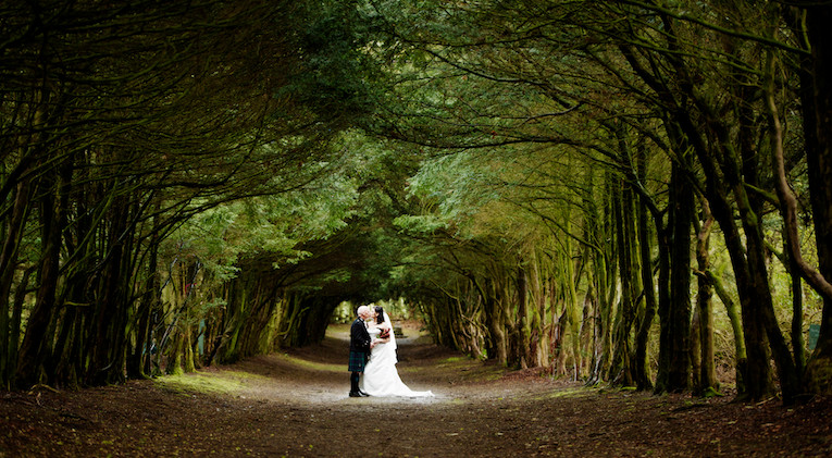 Barony Castle – A Real Wedding – Nichole and Bruce