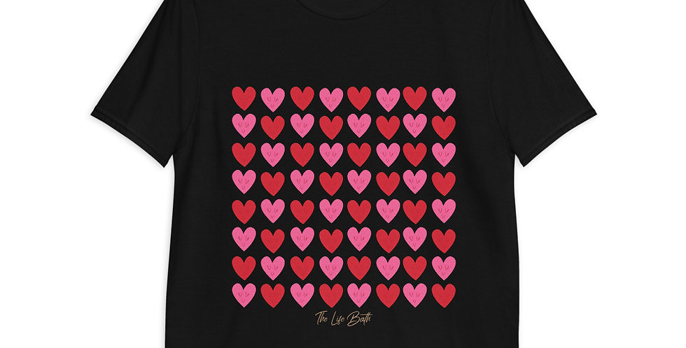Short-Sleeve T-Shirt - Happy Hearts