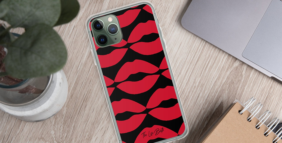 iPhone Case - Red Lips