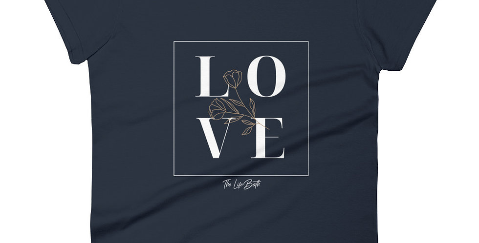 Women's short sleeve t-shirt - LOVE