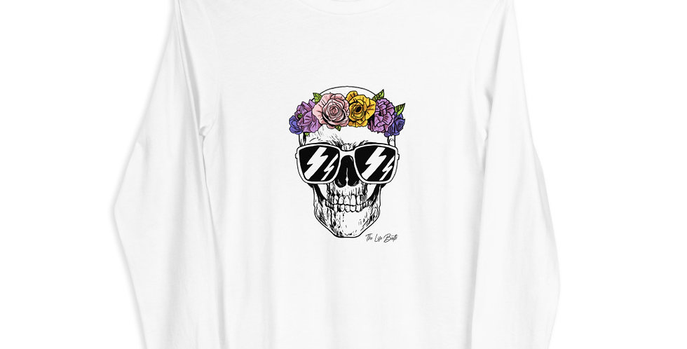 Long Sleeve Tee - Skull