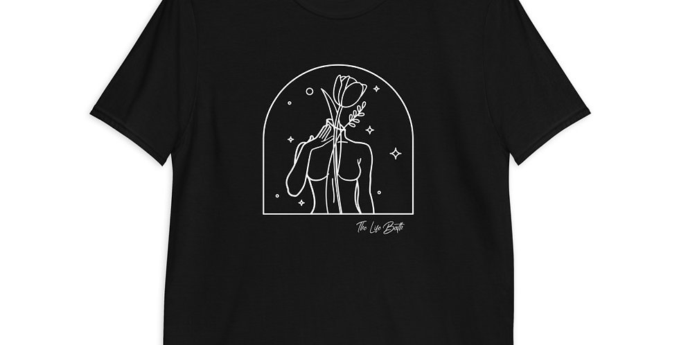 Short-Sleeve T-Shirt - Body and flowers