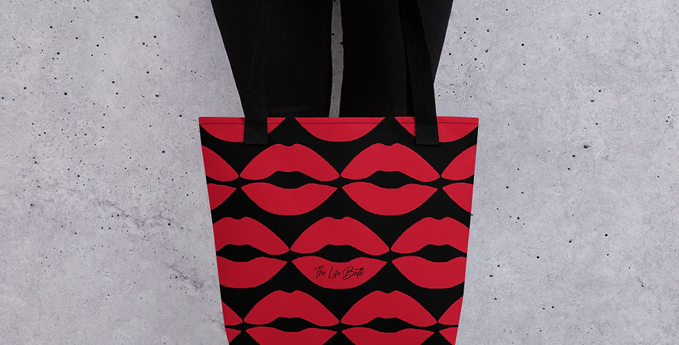 Tote bag - lips