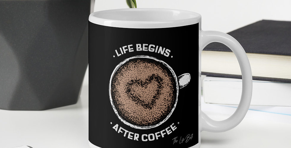 Mug - Life begins after coffee