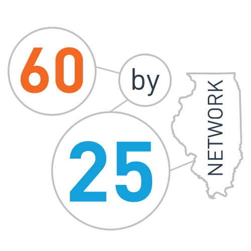 Continuum of Learning Obtains 60 by 25 Leadership Community Status and Grant Funding