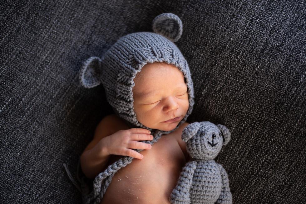 Séance nouveau-né garçon