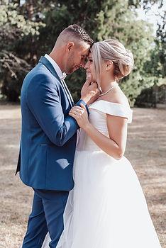 Mariage en toute complicité d'Audrey & Freddy capturé par VU D'UN AUTRE OEIL photographe Malesherbois