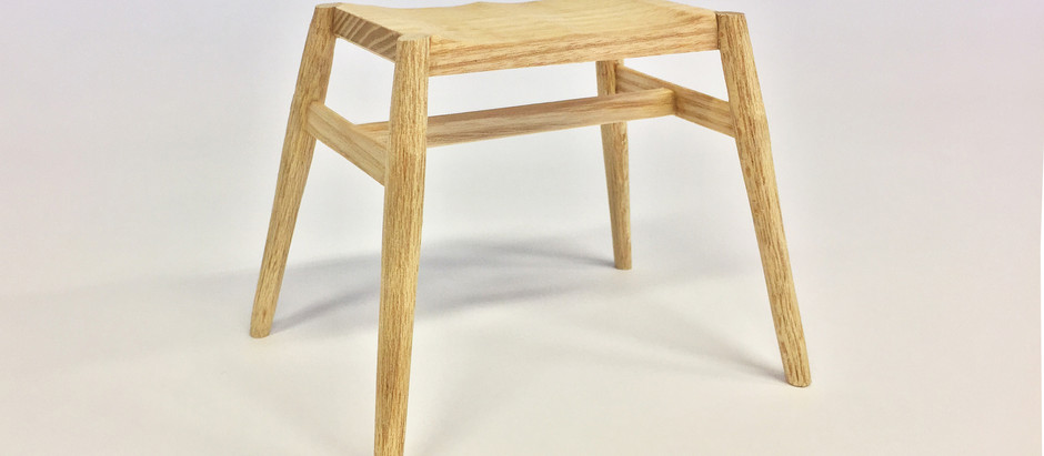 Stool project is coming along