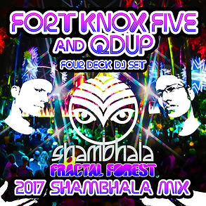Four Deck DJ Set - Shambhala Fractal For