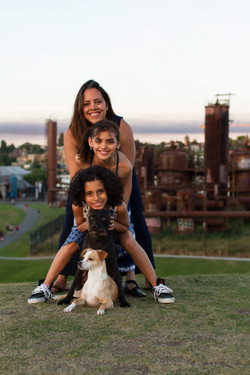 Dog family pictures, Seattle