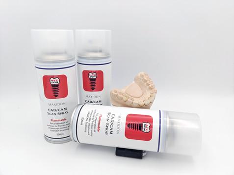 3D Scan Spray for CAD/CAM