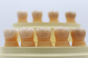Zirconia Crowns A1 B1 D1 Tooth Shades