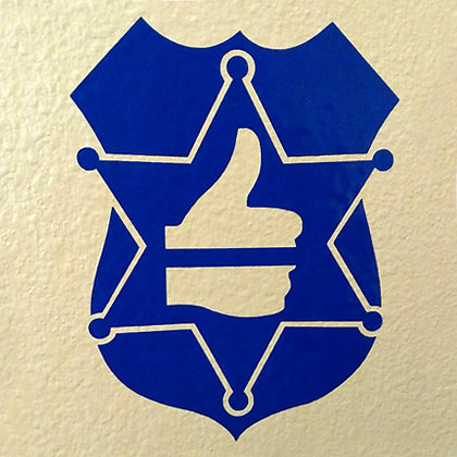 Share the Badge to Support the Blue Decal