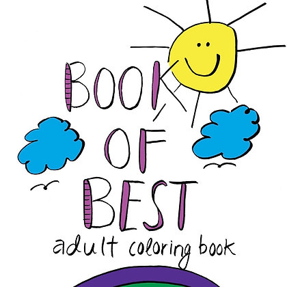 Book of BEST Adult Coloring Book
