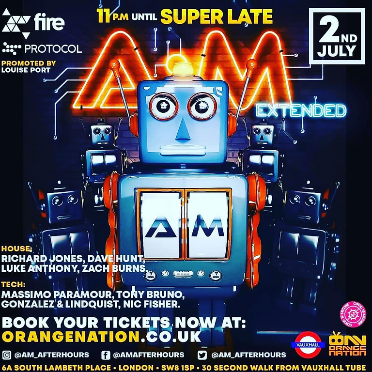 A:M AFTER HOURS LONDON -EXTENDED