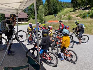 Stage de DH pour l'Ecole de vélo