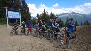 Stage DH pour la Team XC