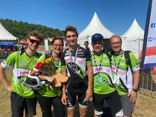 Quentin Luchini : Médaillé de bronze en individuel aux championnats de France.