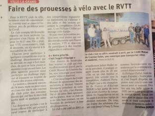 Faire des prouesses à vélo avec R-VTT
