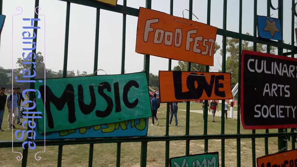 food fest Delhi University fests