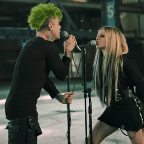 """The official video for Avril Lavigne and MOD SUN's new song """"FLAMES"""" is out and it's worth watching!"""