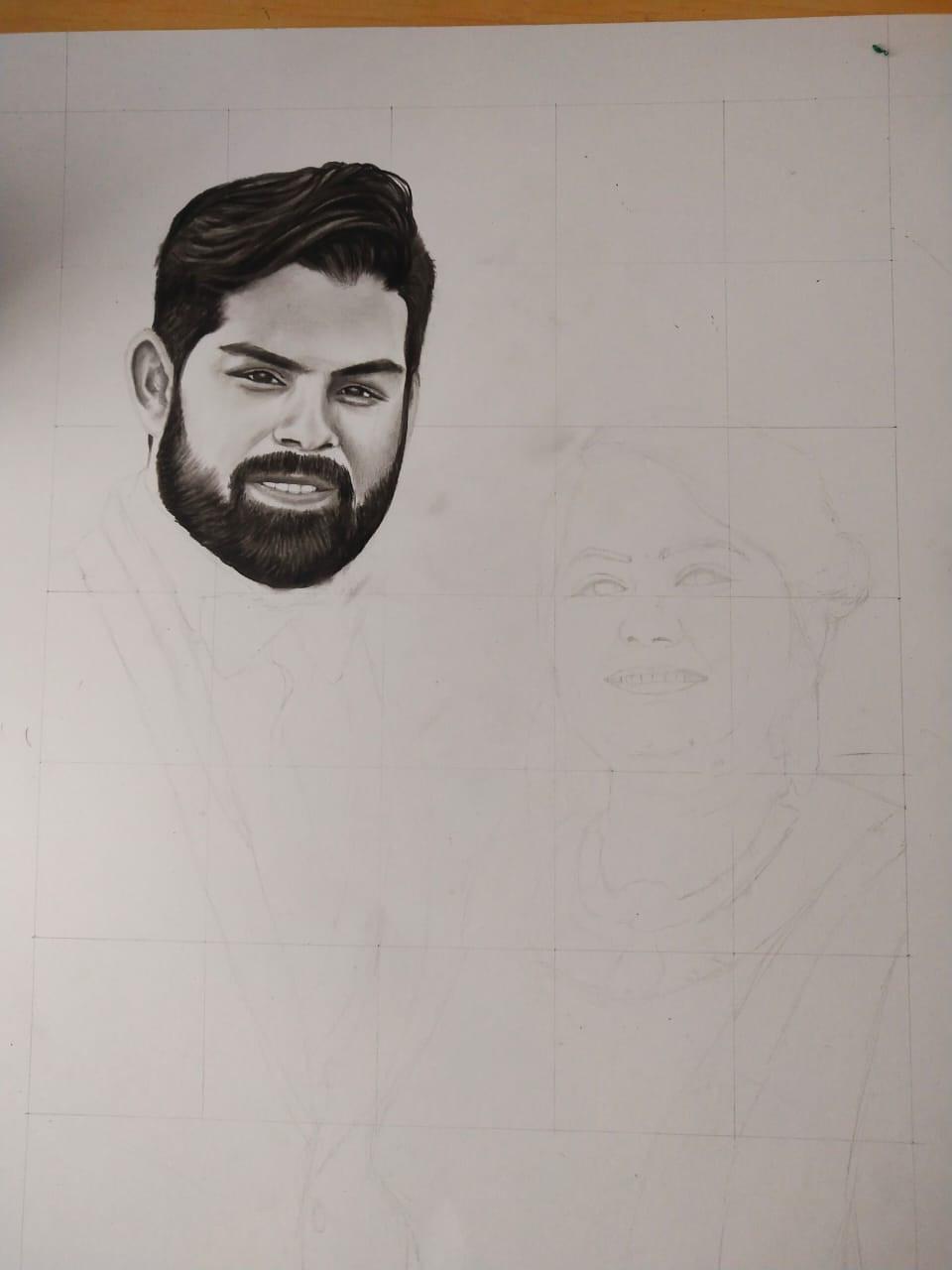 Step by step portraits beginner