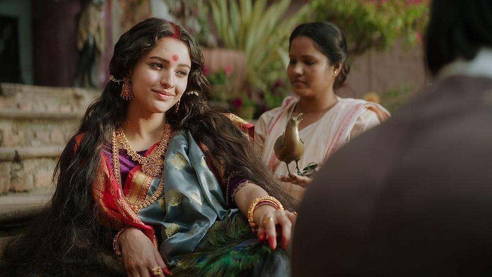 Tripti Dimri smiling in Netlix's Bulbul Review