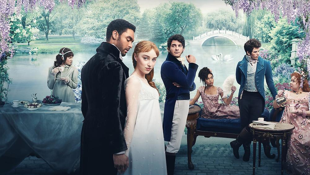Netflix Bridgerton , the crown