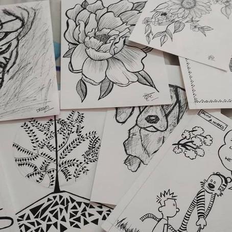 Sketchbook ideas : Get CREATIVE