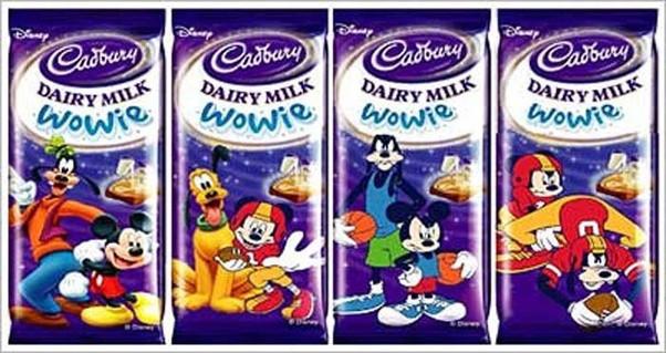Cadbury Wowie Disney
