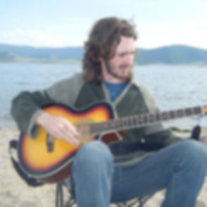 Jamming by a lake _#acousticguitar #mong