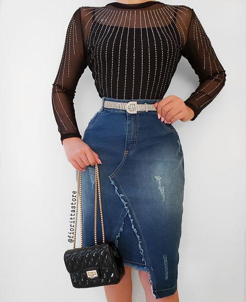 Saia  Nadia Jeans