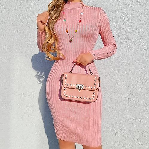 Vestido Mayara rose.