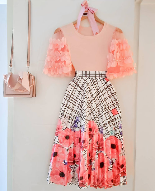 Blusa Lili coral