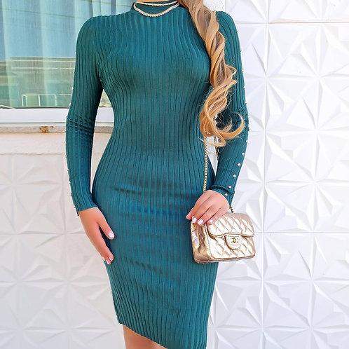 Vestido Mayara verde.