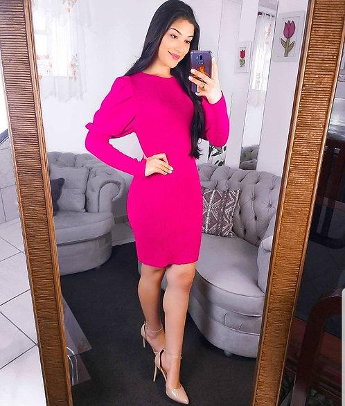 Vestido Tricot Pink