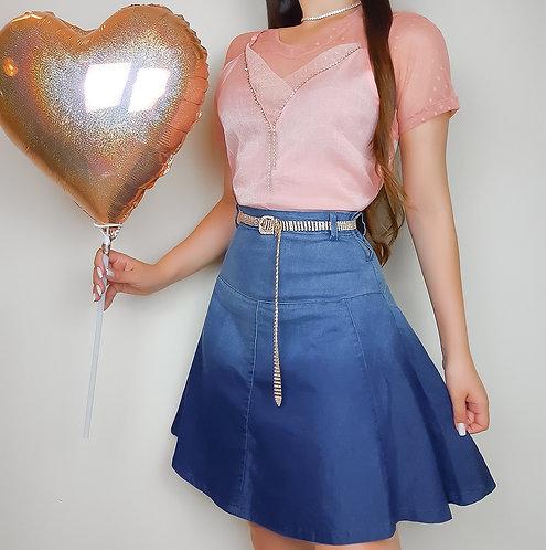Blusa Felicia ( Alcinha + blusa de tule)