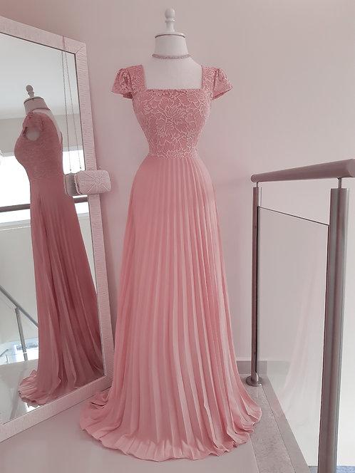 Vestido Cinderela Rose
