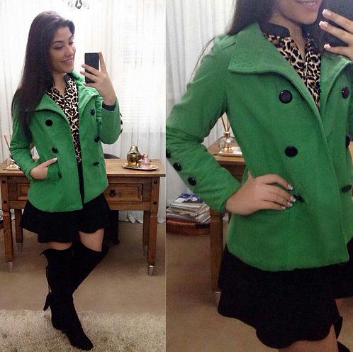 Casaco Verde .