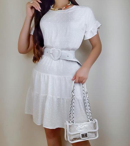 Bolsa Carolina branca.